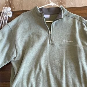 Large men's Columbia fleece